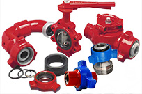 Weco Hammer Unions, Chiksan Swivel Joint, Butterfly Valve